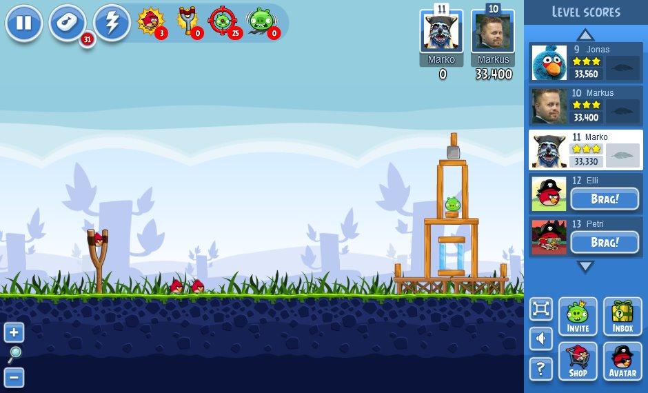 Jeu angry birds friends gratuit sur facebook - Telecharger angry birds gratuit ...