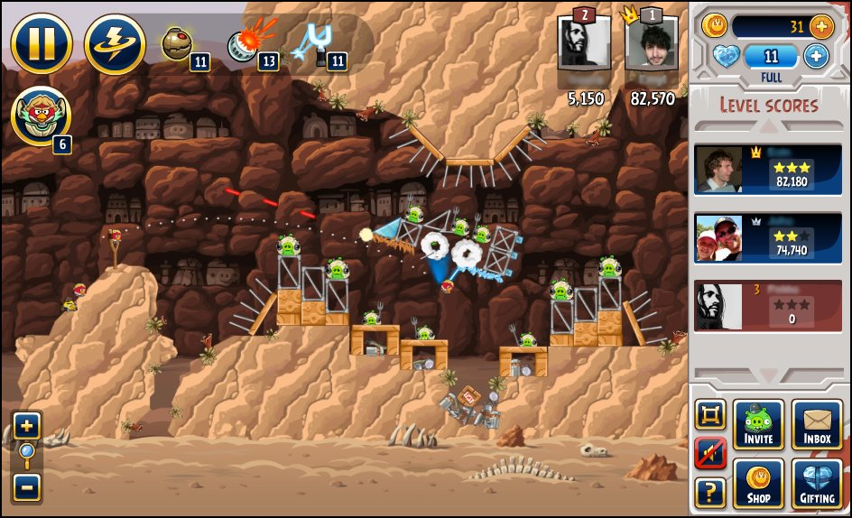 T l charger le jeu angry birds star wars gratuit sur facebook - Telecharger angry birds star wars ...