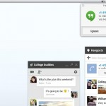 Google Hangouts chat notification