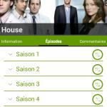 SeriesAddict saisons séries TV