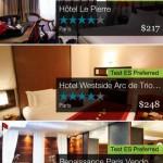 Egencia TripNavigator hotels