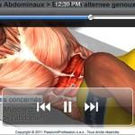 Entraînement abdominaux vidéo 3D