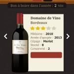 EuroCave bouteille de vin