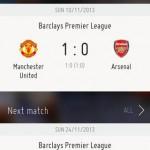 FIFA live score