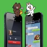 LINE appels sms gratuits