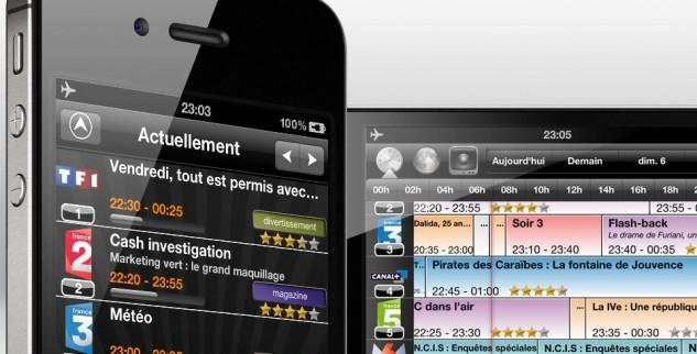 Top des applications de Programme TV sur iPhone et iPad