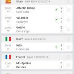 SofaScore LiveScore resultats