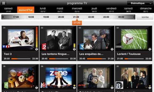 Programme TV d'Orange
