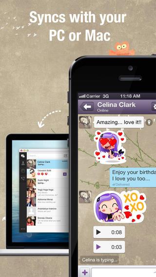application  u0026quot viber u0026quot  pour des appels et sms gratuits sur iphone  ipad