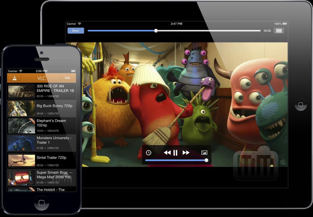 VLC sur iPhone et ipad