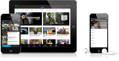 myCANAL sur Apple