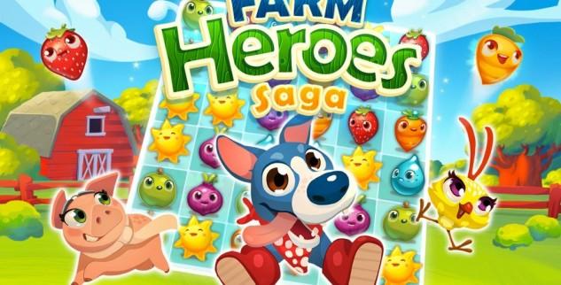 Télécharger «Farm Heroes Saga» sur iphone et ipad